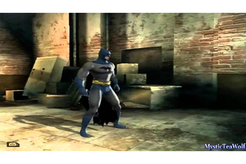 Batman Begins | [PS2] | Bonus Materials | Alternate ...