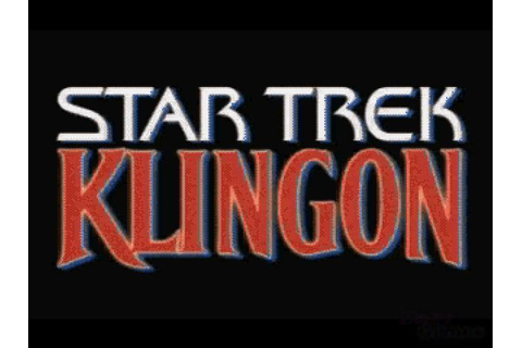Star Trek: Klingon Download (1995 Adventure Game)