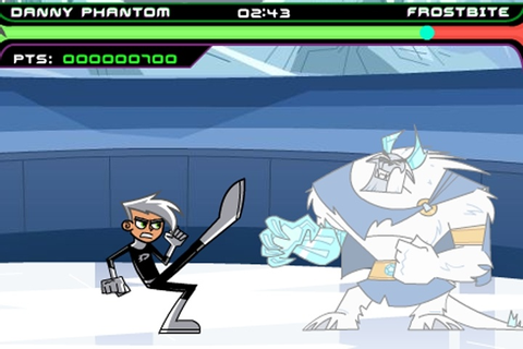 Danny Phantom Urban Jungle Rumble Game - 1 vs 1 fighting ...