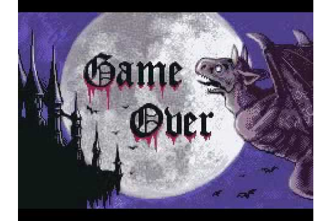 Game Over - Castlevania: Circle of the Moon - YouTube