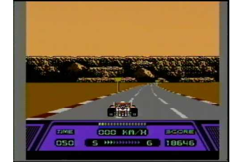 Classic Game Room HD - RAD RACER for Nintendo NES review ...