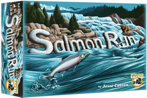 Salmon Run Board Game Review | play board games