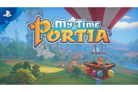 My Time At Portia Game | PS4 - PlayStation