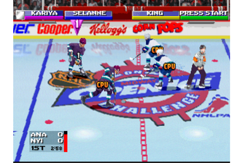 Open Ice - 2 on 2 Challenge Sony PlayStation online | Play retro games ...