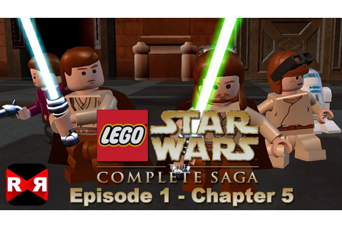 LEGO Star Wars: The Complete Saga - Episode 1 Chp. 5 - iOS ...