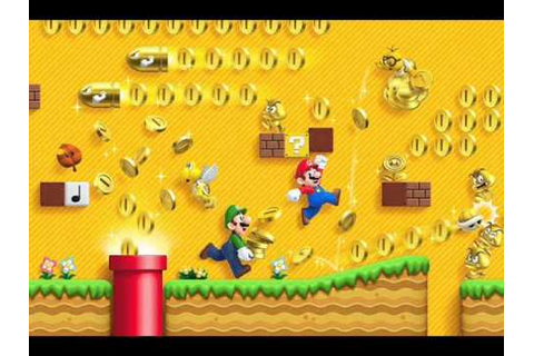 New Super Mario Bros. 2 3DS Music/Miss ~ Game Over - YouTube
