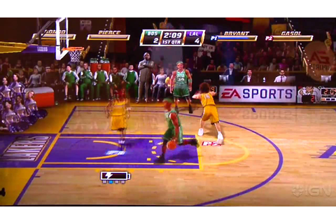 NBA Jam Wii Gameplay - E3 2010 - YouTube