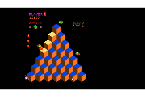 Q*bert - Classic Arcade Game - YouTube