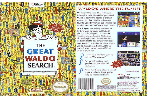 The Great Waldo Search (Nintendo) | Waldo Wiki | Fandom