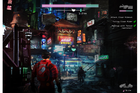would kill for an Akira next-gen video game. i made some ...