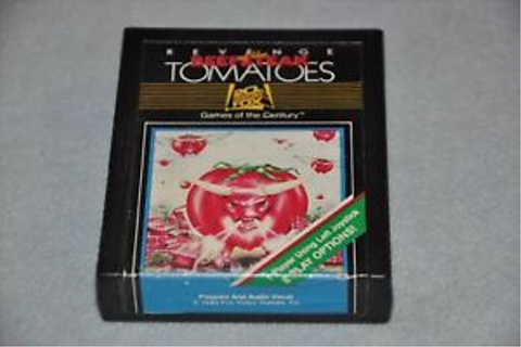 Revenge of the Beefsteak Tomatoes Atari 2600 Game | eBay