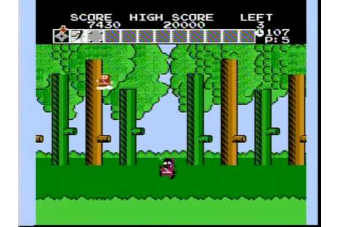 Ninja Hattori Kun gameplay on famicom - YouTube