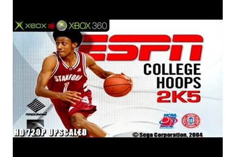 ESPN College Hoops 2K5 - Gameplay Xbox HD 720P (Xbox to ...