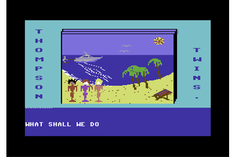 Download The Thompson Twins Adventure (Commodore 64) - My ...
