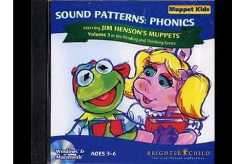 Muppet Kids - Beginning Sounds & Sound Patterns: Phonics ...
