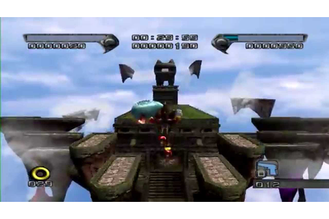 Shadow the hedgehog - Sky Troops + Chaos Control Glitch ...