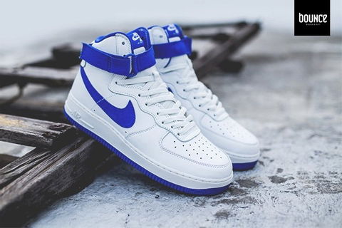 Nike Air Force 1 High OG White Blue | SneakerFiles