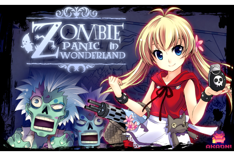 Zombie Panic in Wonderland HD Wallpaper | Background Image ...