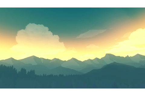 Firewatch is a beautiful game : wallpapers