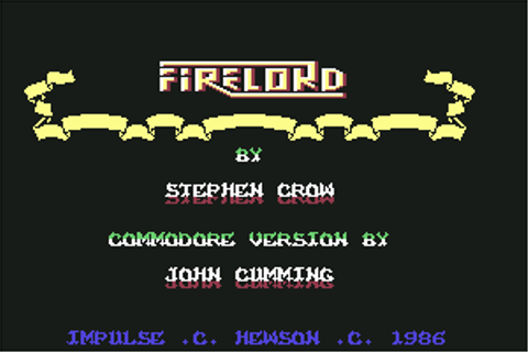 Download Firelord (Amstrad CPC) - My Abandonware