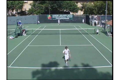 Junior Orange Bowl International Tennis Tournament 2007 ...