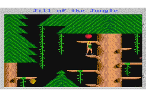 YEEEAAAAHHHH! | Let's Remember: Jill of the Jungle! | DOS ...