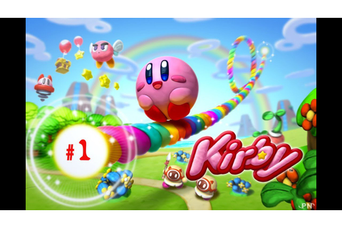 (Finish the Game #1) Kirby et le Pinceau Arc en Ciel - YouTube