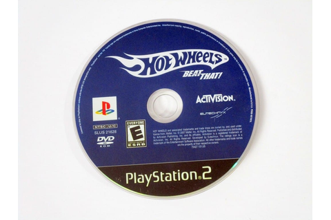 Hot Wheels Beat That game for Playstation 2 (Loose) | The ...