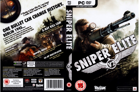 Sniper Elite V2 - Games do ano!: Sniper Elite V2