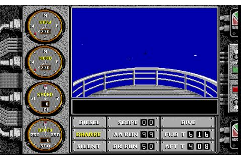 Sub Battle Simulator (1987) - PC Game