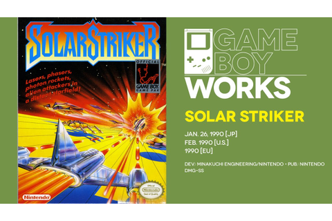 Solar Striker retrospective: Keeping it simple | Game Boy ...
