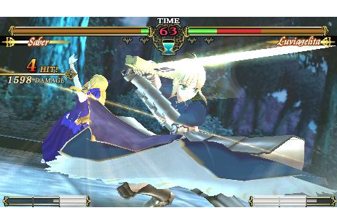 Fate Unlimited Codes (USA) (PSN) ISO