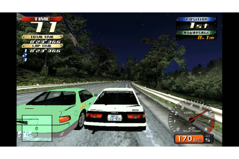 ... Initial D: Arcade Stage. Секреты Initial D: Arcade Stage