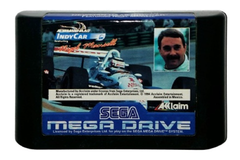 Buy Newman Haas IndyCar Featuring Nigel Mansell Mega Drive ...