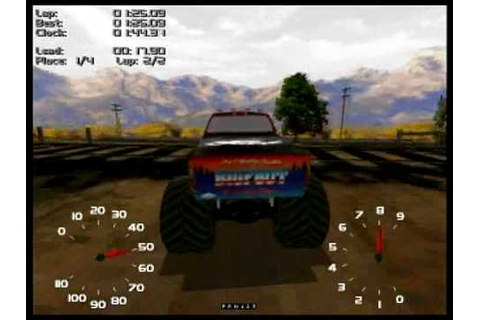Monster Truck Madness 2 Gameplay - YouTube