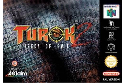 Game: Turok 2: Seeds of Evil [Nintendo 64, 1998, Acclaim ...