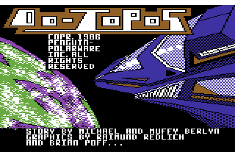 Oo-Topos (1986) by Polarware / Penguin Software C64 game