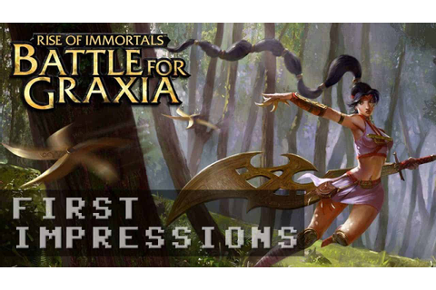 Battle for Graxia Gameplay - First Impressions HD | MMO ATK