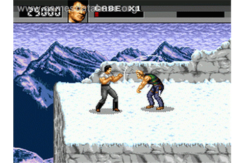 Cliffhanger - Sega Genesis - Games Database