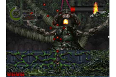 PsOne C: The Contra Adventure Level 9 Boss 2 + Game Ending ...