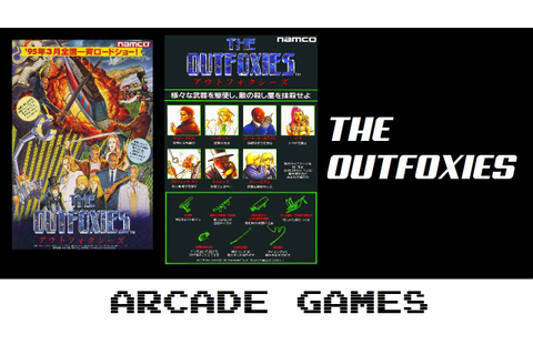 The Outfoxies - アウトフォクシーズ (Quick Gameplay) Arcade - YouTube