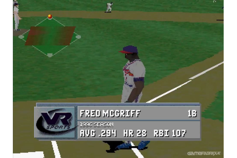 VR Baseball '97 Download Game | GameFabrique