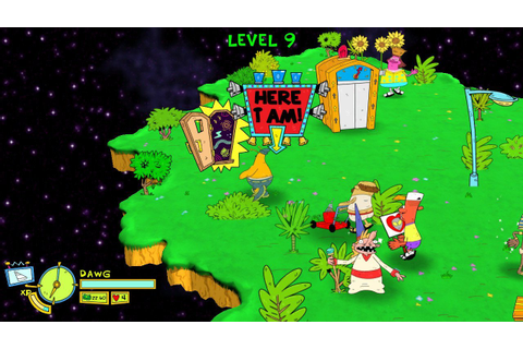 Review: ToeJam & Earl: Back in the Groove