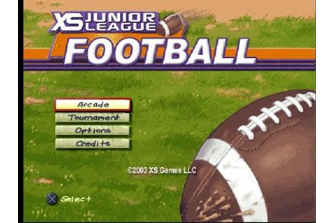 XS Junior League Football ISO PS1 | Free Download Game & Apk