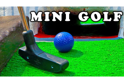 Mini Golf - Let's Play FOR REAL! Animal Course - YouTube