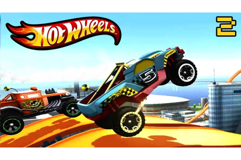 Hot Wheels Stunt Track Driver video game Kids Games#3(hot ...