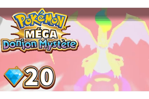 POKEMON MEGA DONJON MYSTERE #71💎20 - Mega-Evolution ...