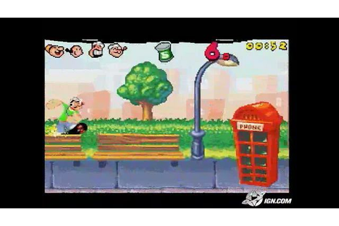 Popeye: Rush for Spinach - Popeye: Rush for Spinach Game ...