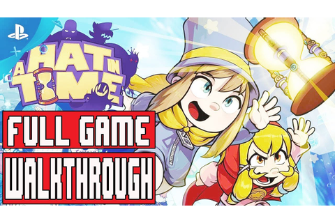 A HAT IN TIME FULL Game Walkthrough - No Commentary - YouTube