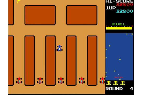 Rally X - classic arcade game - YouTube